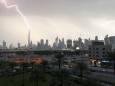 Молния ударила в самое высокое здание в мире
