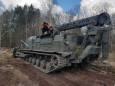 В Чернобыльской зоне отчуждения продолжают вести борьбу с огнем