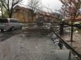 Негода на Закарпатті. Знеструмлено населені пункти і повалені дерева