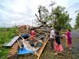 Количество погибших во время циклона Ампан достигло 95 человек