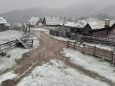 В Боснии и Герцоговине выпал снег