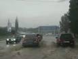 Ливень затопил улицы Николаева
