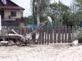 Смерч в Бердянске повалил деревья и повредил дома