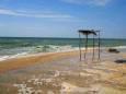 В Кирилловке готовят пляжи к туристическому сезону