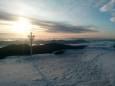 Мороз и солнце. В начале лета в Карпатах лежит снег