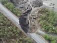 Оползень в Норвегии разрушил дорогу