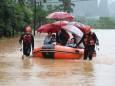 В Китае и Гонконге происходят наводнения