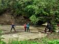 В Ивано-Франковской области паводок заблокировал туристов