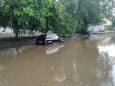 Злива затопила центральні вулиці Миколаєва