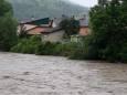 Сильні дощі підвищили рівень води в річках Закарпаття