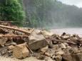 Дорога Яремче-Буковель уничтожена паводком