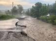 Ливень на Закарпатье разрушил дороги и вызвал оползни