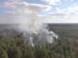 Пожар в Луганской области локализован