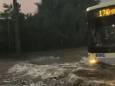 Злива затопила вулиці Запоріжжя