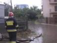 У Хмельницькому злива затопила проїжджу частину