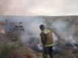В Казахстане ведут борьбу с природными пожарами