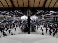 На железнодорожном вокзале в Париже начали измерять температуру пассажиров