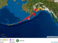 У берегов Аляски произошло мощное землетрясение. Объявлена угроза цунами
