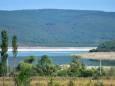 В Крыму обмелело Чернореченское водохранилище