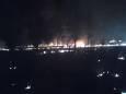 В Днепропетровской области гасили лесной пожар