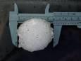 У Канаді випав град розміром з тенісний м'яч