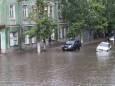 Злива затопила курорти на Азовському морі