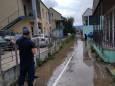 На украинском курорте ливень затопил базы отдыха