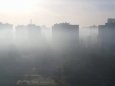 Воздух в Киеве немного очистился