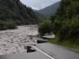 У Грузії повінь зруйнувала автомагістраль