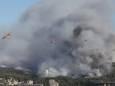 Юг Франции охватил лесной пожар