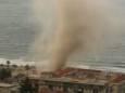 На побережье Сицилии обрушился мощный смерч