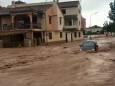 Сильные ливни вызвали наводнения в Испании
