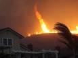 Лісові пожежі викликали вогняний смерч в Каліфорнії