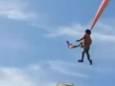 Воздушный змей унёс в небо ребёнка