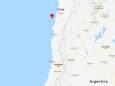 Біля узбережжя Чилі стався сильний землетрус з афтершоком