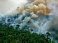 В Южной Америке горит Амазония