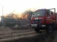 В Харьковской области ведут борьбу с огнем в экосистемах