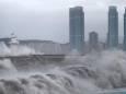 Тайфун Хайшен обрушился на Южную Корею