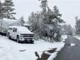 В США в нескольких штатах выпал снег