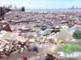 На пляжи Гондураса обрушилось «мусорное цунами»