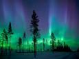 В Финляндии начался сезон Северного сияния