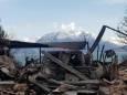 Десятки домов разрушены в результате лесных пожаров в Новой Зеландии