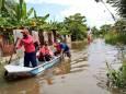 У Мексиці тисячі людей постраждали від повеней через тропічний шторм «Гамма»