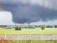 Рідкісний торнадо пронісся поблизу бельгійського міста Антверпен