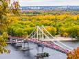 Начало октября радует киевлян летним теплом