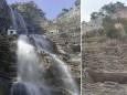 В Крыму исчез знаменитый водопад