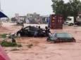 Раптові повені викликали хаос на дорогах в столиці Гани