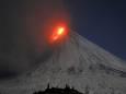 Началось извержение вулкана Ключевской на Камчатке