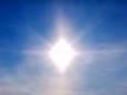 Редкое природное явление паргелий: на севере Китая наблюдали ненастоящее Солнце