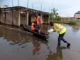 После нескольких недель наводнений в Нигерии погибли 155 человек